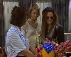 Pam Willis, Danni Stark, Cody Willis in Neighbours Episode 2110
