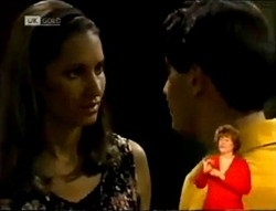 Sally Pritchard, Rick Alessi in Neighbours Episode 2146