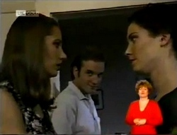 Sally Pritchard, John Muir, Gaby Willis in Neighbours Episode 2146