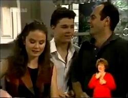 Julie Martin, Michael Martin, Philip Martin in Neighbours Episode 2148