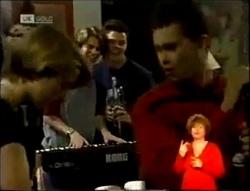 Danni Stark, Brett Stark, Michael Martin, Lenny Hooper in Neighbours Episode 2148