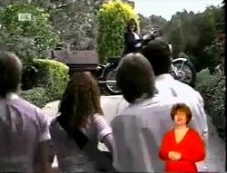 Pam Willis, Danni Stark, Cody Willis, Brett Stark, Michael Martin in Neighbours Episode 2148