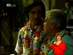 Kev Duve, Lou Carpenter in Neighbours Episode 2150