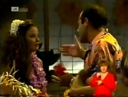 Julie Robinson, Philip Martin in Neighbours Episode 2150