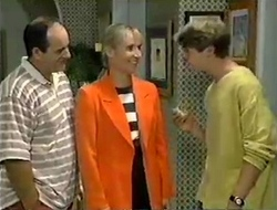 Philip Martin, Ruth Wilkinson, Lance Wilkinson in Neighbours Episode 2854