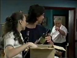 Debbie Martin, Darren Stark, Lou Carpenter in Neighbours Episode 2854