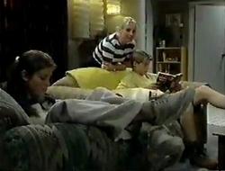 Anne Wilkinson, Ruth Wilkinson, Lance Wilkinson in Neighbours Episode 2854
