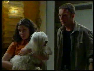 Caitlin Atkins, Bob, Ben Atkins in Neighbours Episode 3042