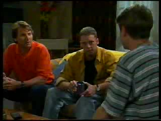Geoff Burke, Ben Atkins, Lance Wilkinson in Neighbours Episode 3042