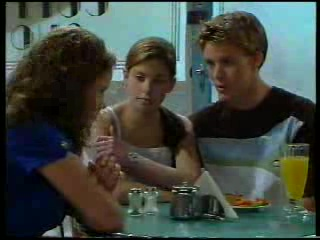 Caitlin Atkins, Anne Wilkinson, Billy Kennedy in Neighbours Episode 3042
