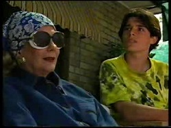 Madge Bishop, Paul McClain in Neighbours Episode 3046