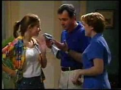 Anne Wilkinson, Karl Kennedy, Libby Kennedy in Neighbours Episode 3046