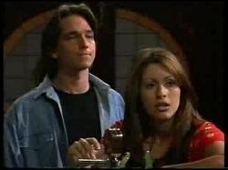 Darren Stark, Sarah Beaumont in Neighbours Episode 3046