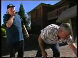 Harold Bishop, Lou Carpenter in Neighbours Episode 3046