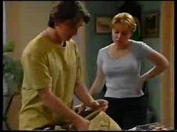 Drew Kirk, Libby Kennedy in Neighbours Episode 3046