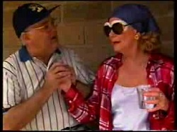 Harold Bishop, Madge Bishop in Neighbours Episode 3047