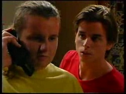 Toadie Rebecchi, Nick Atkins in Neighbours Episode 3047