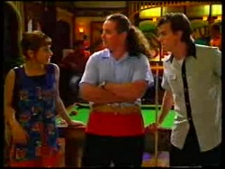 Karen Oldman, Toadie Rebecchi, Nick Atkins in Neighbours Episode 3047