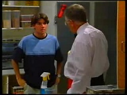 Paul McClain, Harold Bishop in Neighbours Episode 3047