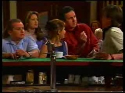 Toadie Rebecchi, Sarah Beaumont, Karen Oldman, Karl Kennedy, Nick Atkins in Neighbours Episode 3047