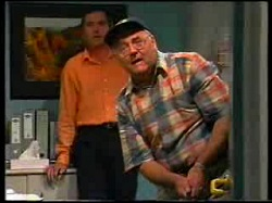 Karl Kennedy, Harold Bishop in Neighbours Episode 3047
