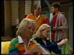 Philip Martin, Lance Wilkinson, Ruth Wilkinson, Amy Greenwood in Neighbours Episode 3048