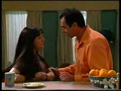 Susan Kennedy, Karl Kennedy in Neighbours Episode 3048