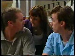 Toadie Rebecchi, Karen Oldman, Nick Atkins in Neighbours Episode 3048