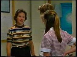 Mrs. Graves, Billy Kennedy, Anne Wilkinson in Neighbours Episode 3050