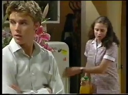 Billy Kennedy, Caitlin Atkins in Neighbours Episode 3051