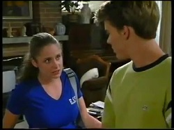 Caitlin Atkins, Billy Kennedy in Neighbours Episode 3051