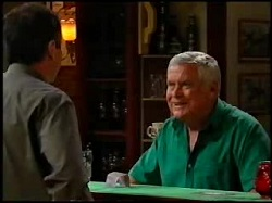 Karl Kennedy, Lou Carpenter in Neighbours Episode 3734