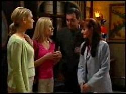 Tess Bell, Dee Bliss, Karl Kennedy, Susan Kennedy in Neighbours Episode 3734