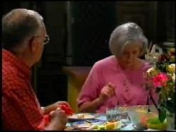 Harold Bishop, Madge Bishop in Neighbours Episode 3734