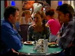 Karl Kennedy, Libby Kennedy, Drew Kirk in Neighbours Episode 3734