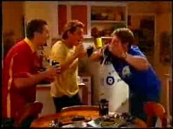 Toadie Rebecchi, Joel Samuels, Lance Wilkinson in Neighbours Episode 3734