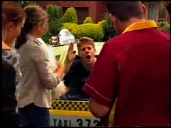 Libby Kennedy, Steph Scully, Lance Wilkinson, Toadie Rebecchi in Neighbours Episode 3734