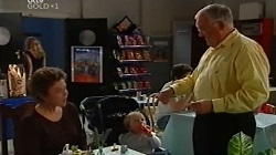 Lyn Scully, Oscar Scully, Harold Bishop in Neighbours Episode 4681