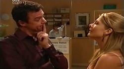 Paul Robinson, Izzy Hoyland in Neighbours Episode 4681