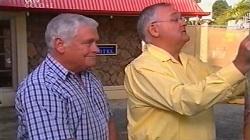 Lou Carpenter, Harold Bishop in Neighbours Episode 4681