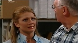 Izzy Hoyland, Harold Bishop in Neighbours Episode 4682