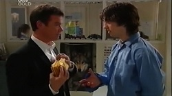 Paul Robinson, Dylan Timmins in Neighbours Episode 4683