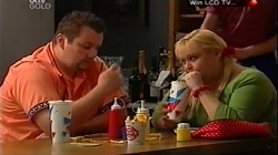 "Toadie Rebecchi, Genevieve ""Eva"" Doyle in Neighbours Episode 4683"