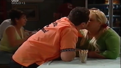 "Toadie Rebecchi, Genevieve ""Eva"" Doyle in Neighbours Episode 4684"
