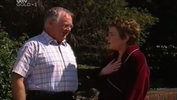 Harold Bishop, Lyn Scully in Neighbours Episode 4685