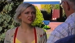Sindi Watts, Harold Bishop in Neighbours Episode 4685