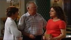 Susan Kennedy, Harold Bishop, Liljana Bishop in Neighbours Episode 4686