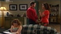 Serena Bishop, David Bishop, Liljana Bishop in Neighbours Episode 4686