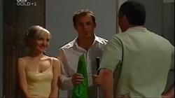 Sindi Watts, Stuart Parker, Karl Kennedy in Neighbours Episode 4686