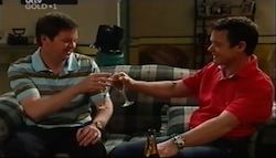 David Bishop, Paul Robinson in Neighbours Episode 4687